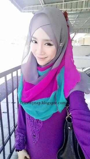 Muslimah Tetap Tampil Cantik Dengan Hijabnya Surabaya ...